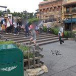 【ディズニーシー】知らなかった。ザンビーニ横の階段がショー鑑賞エリアになるときがある?