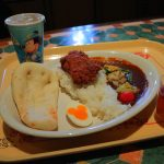 気軽に食べられるグランドフィナーレメニュー。カスバ・フードコートの「スペシャルセット」