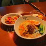 担々麺は冷やしも美味い!ヴォルケイニア・レストランの夏季限定「冷やし担々麺」
