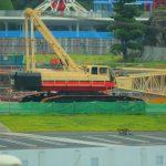 TDRの気になる工事現場の様子【新ファンタジーランド・ソアリン(仮)・TDL駐輪場横】