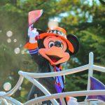 【ディズニーハロウィーン2017】ハロウィーン・ポップンライブ鑑賞記(ミッキー・ドナルドフロート停止ポジ)