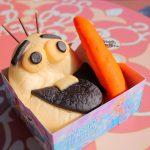 オラフのお顔を完成させる?スウィートハート・カフェ「コーンクリームパン&オレンジブレッド」【フローズンファンタジー2018】