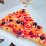 スウィーツのような甘いピザ!キャプテンフックス・ギャレー「ティンカーベリーピザ」【春キャン2018】
