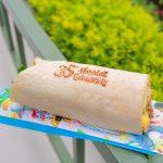【TDR35周年】35周年の焼印入り!ディズニーランド「ラップサンド(焼肉&エッグ)」