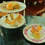 """祝祭感満載!ドリーマーズ・ラウンジ「Tokyo Disney Resort 35th """"Happiest Celebration!"""" アフタヌーンティーセット」"""