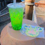 綺麗な緑色!ノーチラスギャレー「スペシャルスパークリングドリンク」【TDR35周年】