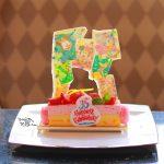 """35周年をお祝いするケーキ!ハイピリオン・ラウンジ「Tokyo Disney Resort 35th """"Happiest Celebration!"""" ケーキセット」"""