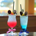 """ミッキーとミニーを表現したドリンク!ドリーマーズ・ラウンジ「Tokyo Disney Resort 35th """"Happiest Celebration!"""" スペシャルドリンク」"""