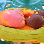 笹舟にのったミッキーとミニーを表現!チックタック・ダイナー「七夕デイズ」スペシャルブレッド