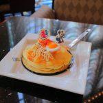 【ディズニー夏祭り2018】お好み焼きそっくり!ハイピリオンラウンジのケーキセット♪