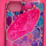 ディズニーシーのテーマポート「マーメイドラグーン」デザイン!!iPhoneケース