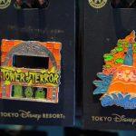タワー・オブ・テラーやスプラッシュ・マウンテンを楽しむミッキーたち!東京ディズニーリゾート新作ピンバッジ2種