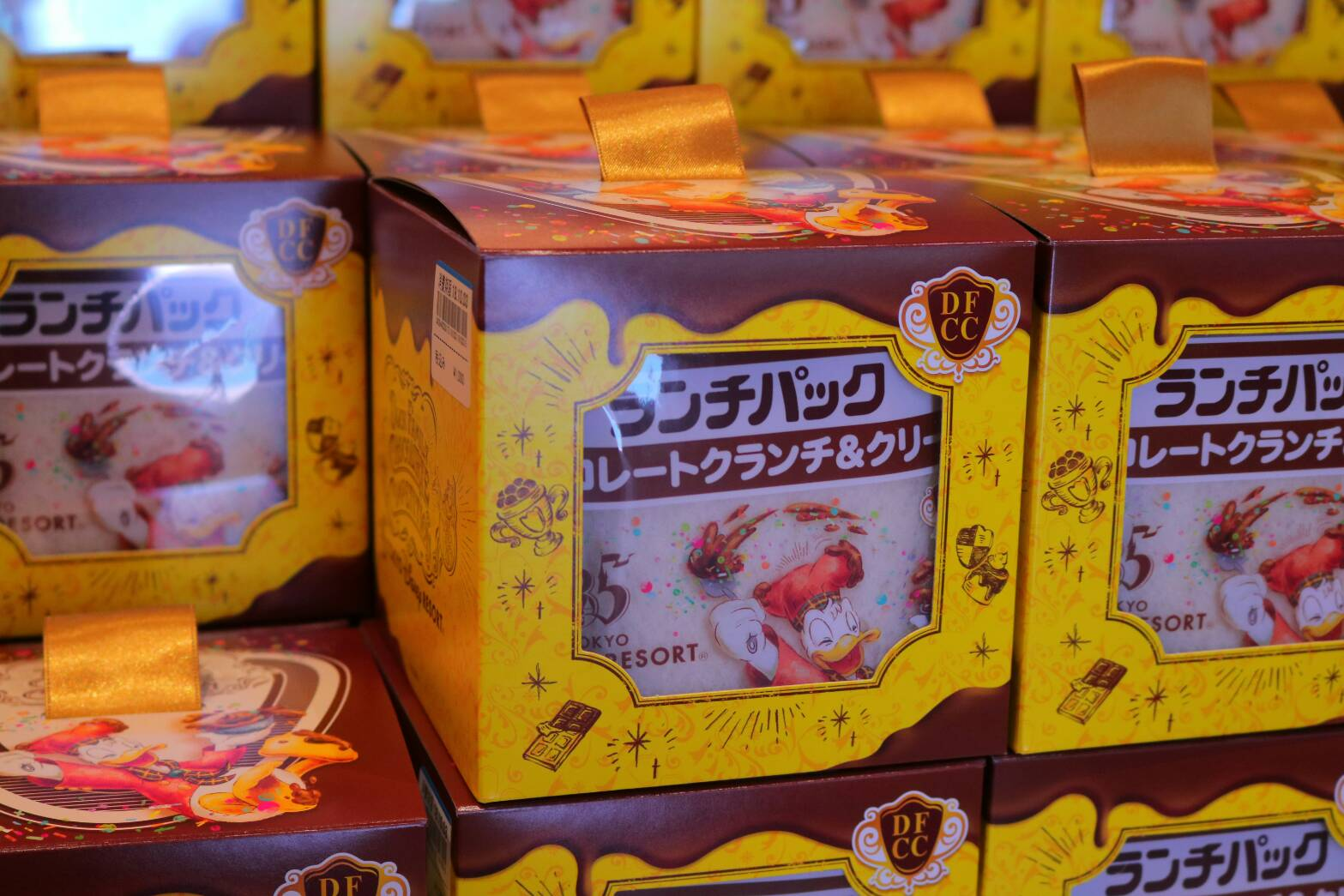 人気のチョコクランチがランチパックに!東京ディズニーリゾート「ランチ