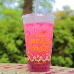 【ハロウィーン2018】おばけミッキーたちのカップも可愛い♪ディズニーランド「スパークリングドリンク(グレープ&サワーホワイト)」