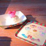 【ダッフィーのクリスマス2018】可愛らしいスーベニアプレートも!ストロベリームースケーキ