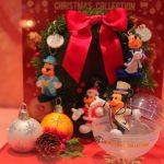 【ディズニークリスマス2018】ミッキーの歴代クリスマスコスチューム!ディズニーシーのカプセルトイ、フィギュアキーチェーン4種