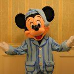 【香港ディズニーランドホテル】パジャマミッキーに会える!キングダムクラブラウンジのパジャマグリ