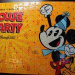 【香港ディズニー2018】ミッキー90周年のお祝い!「MOUSE PARTY」のジグソーパズルが無料で貰える♪
