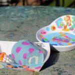 【ピクサープレイタイム2019】サリー模様のかわいいロールケーキ!クリームロールケーキ、スーベニアプレート付き