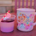 【ハートウォーミング・デイズ2019】ピンク色のマグカップが付けられる!ストロベリー&カシスムース