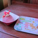 ダッフィーたちのかくれんぼデザイン!東京ディズニーシー「ブルーベリー&バニラムースケーキ、スーベニアプレート付き」
