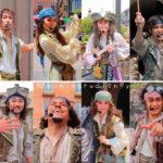 【2019年版】あの海賊が帰ってきた!ディズニーシー《海賊グリーティング》海賊12人総まとめ!