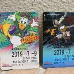 夏のスペシャルイベント限定デザイン!ディズニーリゾートライン「フリーきっぷ」2種類!